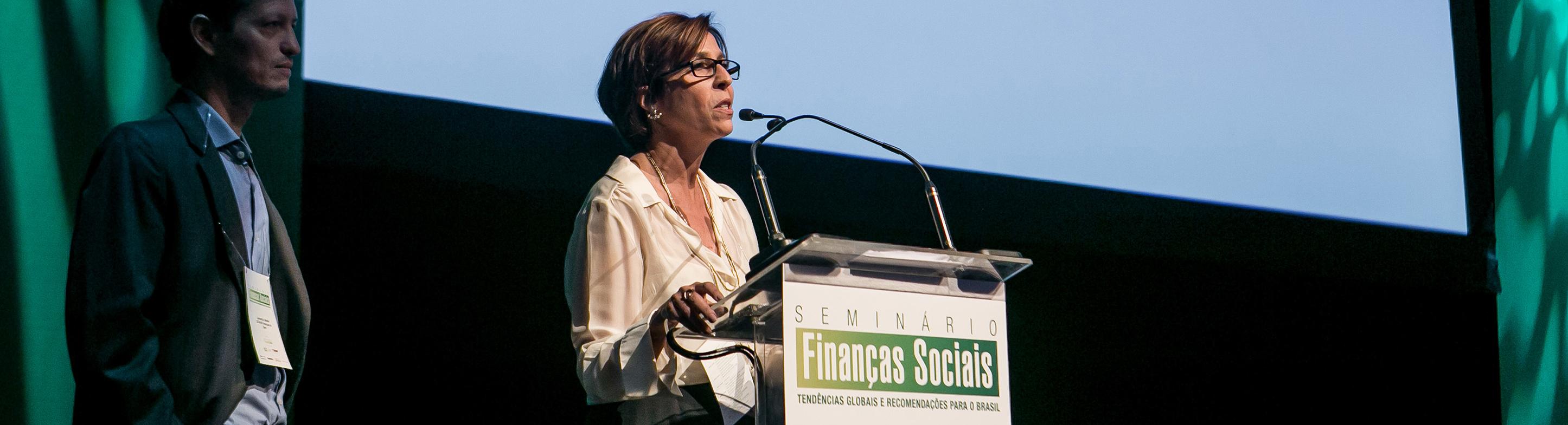 São Paulo, 14 de outubro de 2015: Seminário Finanças Sociais no Instituto Tomie Ohtake.